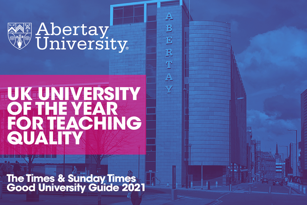 Abertay - Teaching is everything video thumbnail