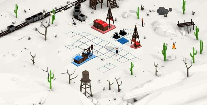 screenshot from game - OIL