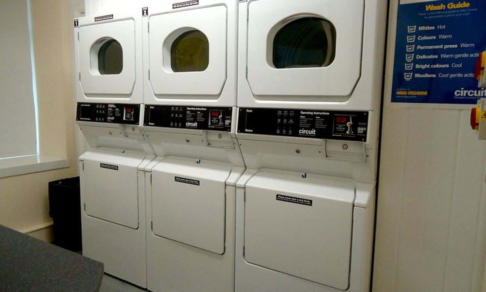 Laundry room - washing machines and tumble driers