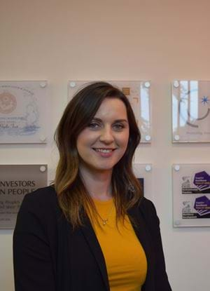 Abertay student Camilla Carr on a placement at Rossie Young People's Trust
