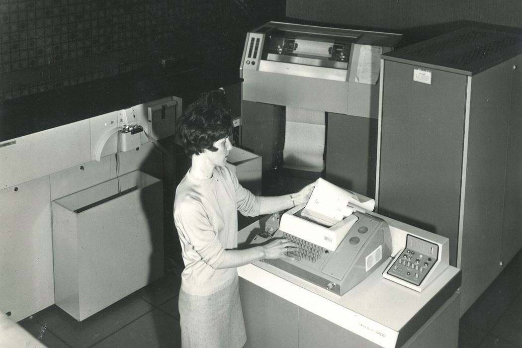 The first computer purchased by Abertay, the Elliot 4100