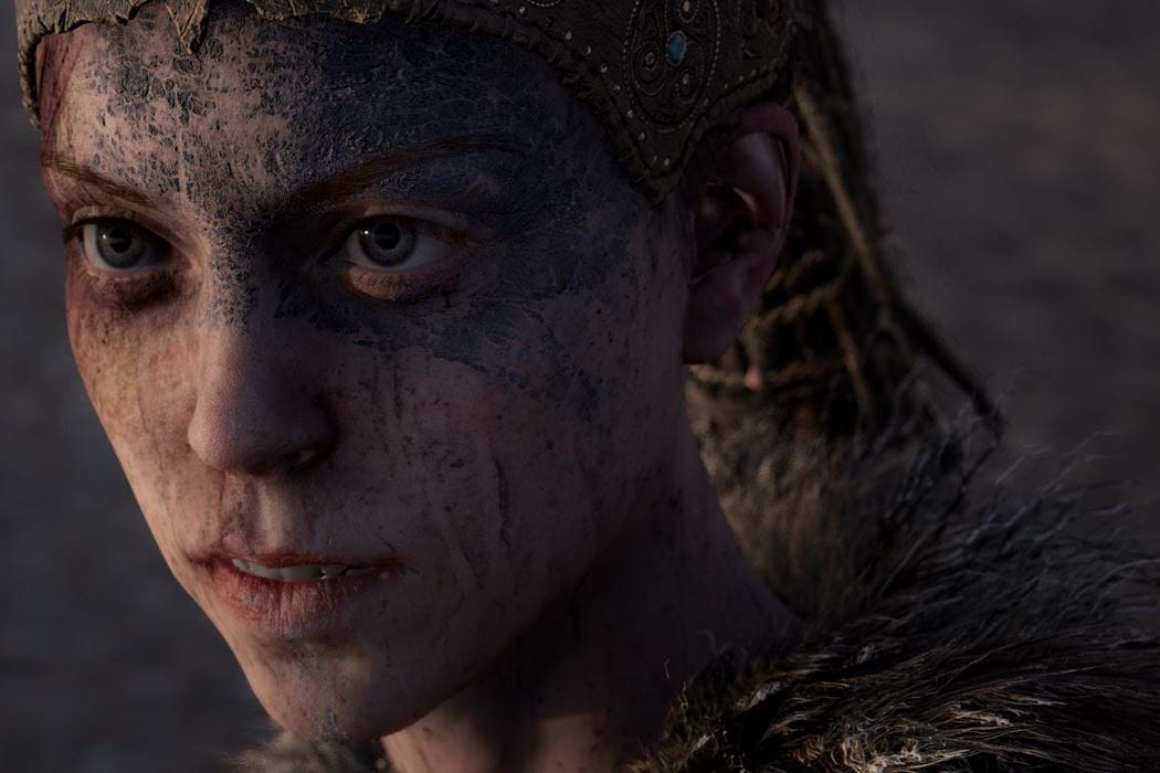 Screenshot from HellBlade game