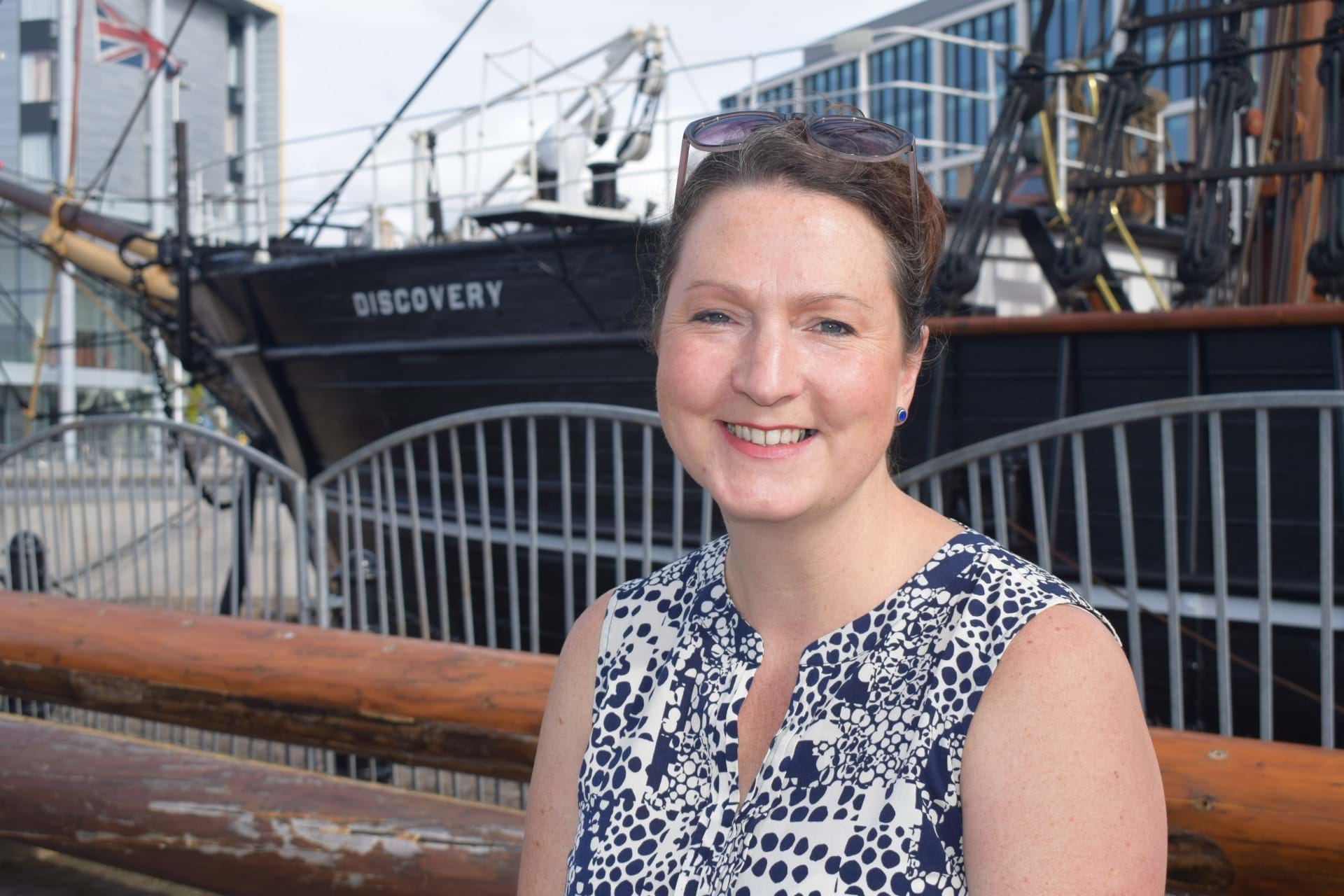 Dr Rebecca Wade at the RSS Discovery