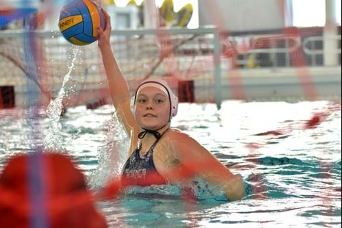 St Andrews University water polo player