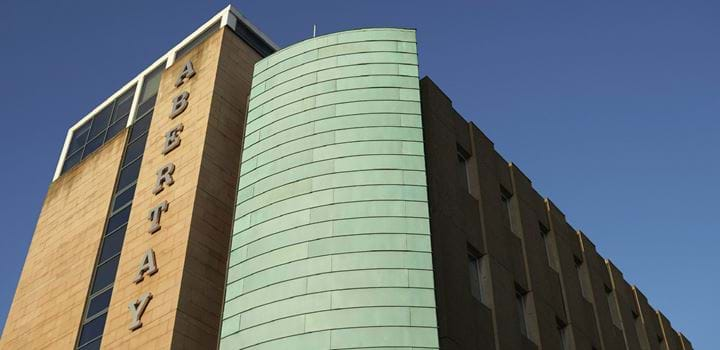 Kydd building of Abertay University