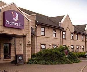 The outside of the Premier Inn Hotel