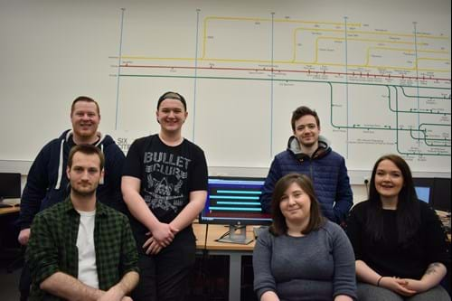 Abertay student games team Retrospect Games