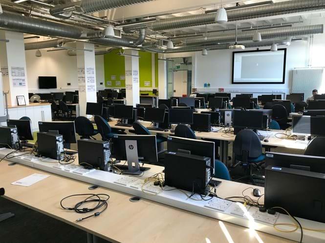 The Hack Lab | Facilities | Abertay University