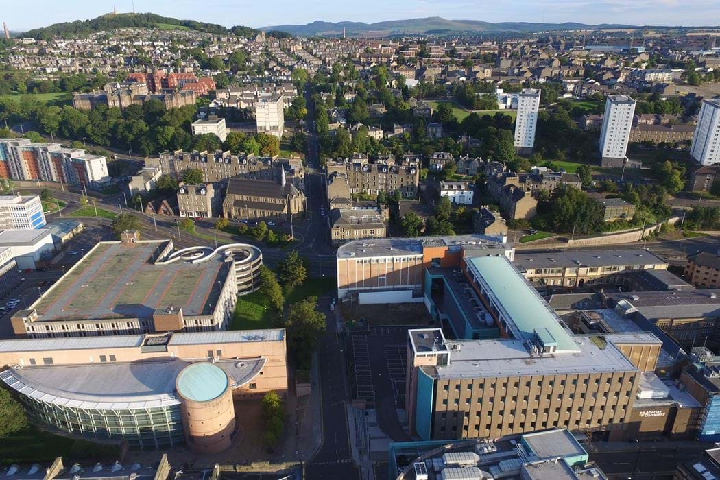 Our Campus | Abertay University