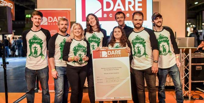 Dare Academy 2018 winners Thunder Lime