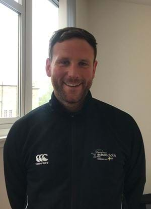 A picture of Graeme Duncan in an Active Schools tracksuit