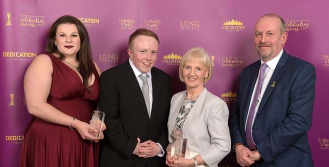 Student intern wins prestigious Edinburgh Airport staff award