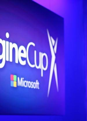 Microsoft Imagine Cup Trophy