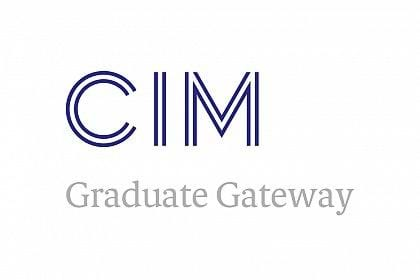 Chartered Institute of Marketing Graduate Gateway logo navy blue