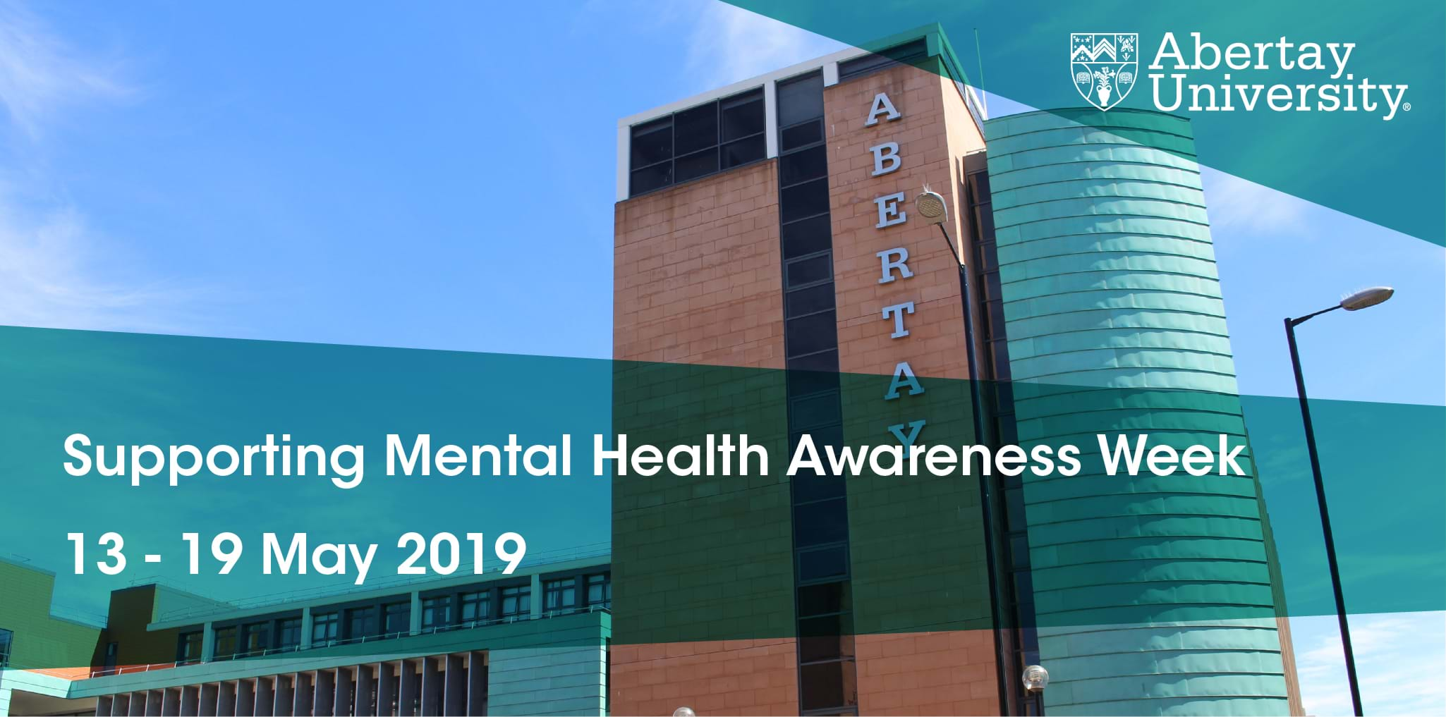 Abertay Supports Mental Health Awareness Week 2019