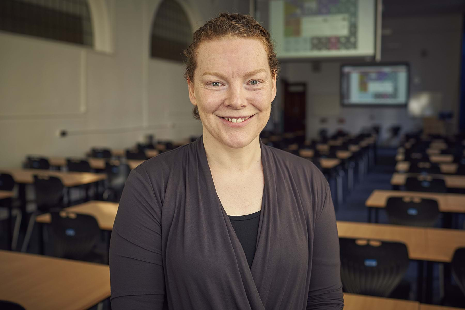 A picture of Professor Ruth Falconer smiling